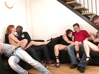 Lucy Belle gets double penetrated hard